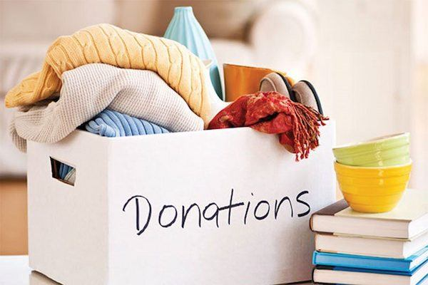 Moving & Packing Tip #1: Start by creating a Donation Pile