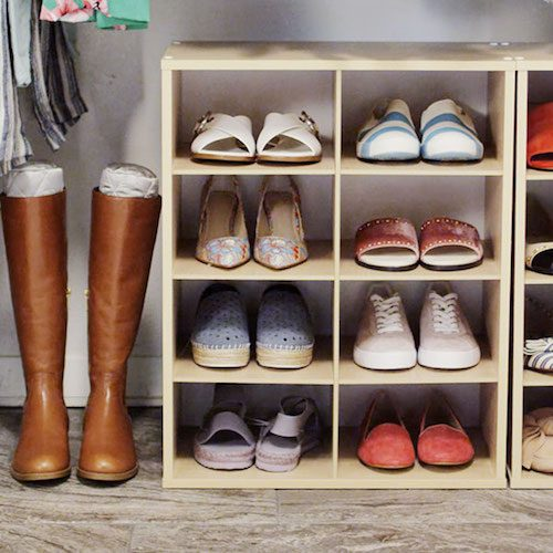 7 Shoe Storage Unit Ideas